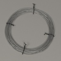 metal wire 3d 3ds