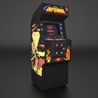 Defender Arcade Low Poly