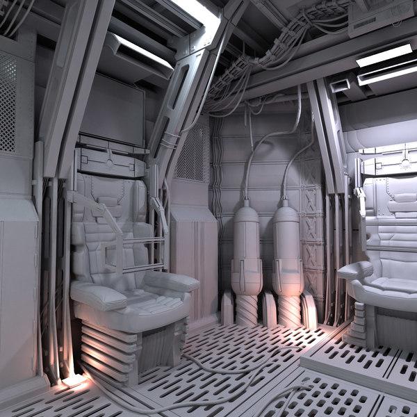 space shuttle interior 3d scan - photo #24