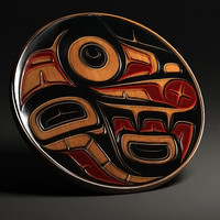 Aboriginal first nation art wall decoration