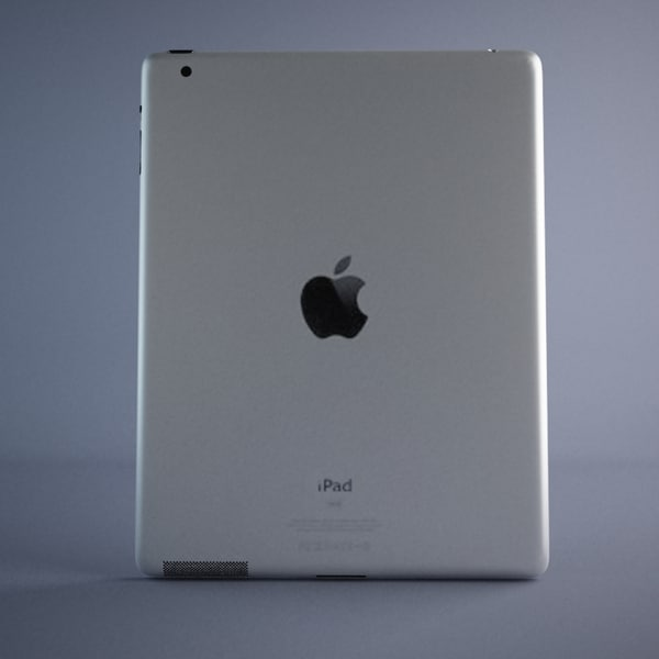 max realistic apple ipad 2 - Apple iPad 2... by JS 3D