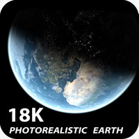 18K Photorealistic Earth