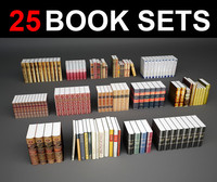 25 book sets 3d 3ds