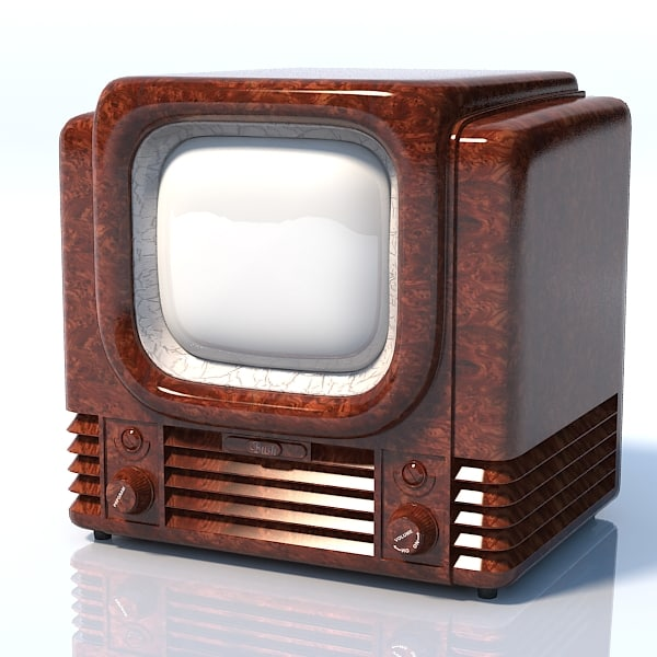 maya bush tv22 1950 - Bush tv22 1950 retro vintage lamp tube tv set television r... by shop3ds