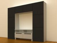 IKEA BESTA TV/storage combination