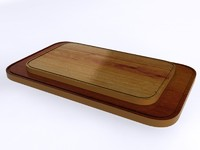 chopping boards 3d max