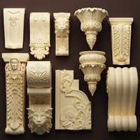dxf classical decoration