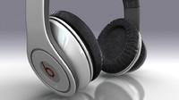 beats headphones 3d model