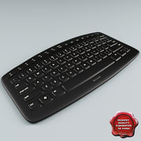 microsoft arc keyboard 3d c4d