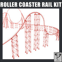Roller Coaster Rails Kit