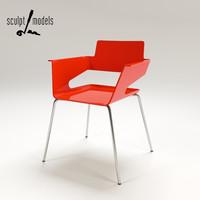 3d model b-32 chair