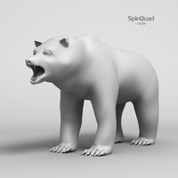 lightwave bear - base mesh