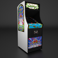 Galaga Arcade Low Poly