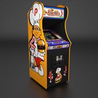 1982 arcade real time 3d model