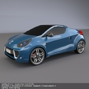 Renault Wind 3D models