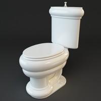 toilet 3d max
