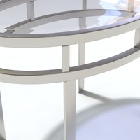 3ds max glass topped table