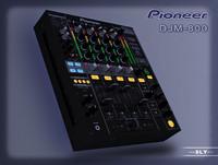 pioneer djm-800 3d 3ds