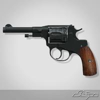 Gun Revolver Nagan