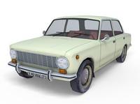 vaz 2101 3d model