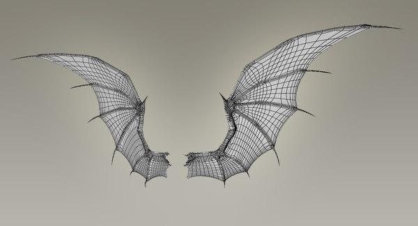 Bat wing skeleton - photo#14