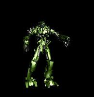 3d concept robot model
