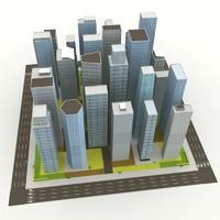 city block 3d max
