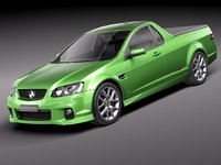 holden ve ii commodore 3d model