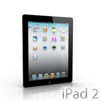 new apple ipad2 3d max