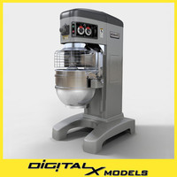 3ds commercial floor mixer restaurant