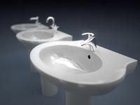 3d sink taps model