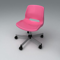 3d model of snille chair chai