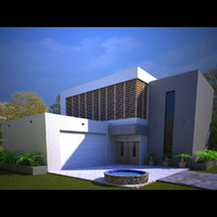 3d model of realistic scene