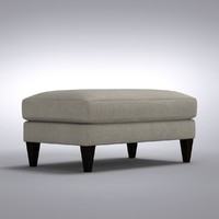 Crate and Barrel - Aidan Ottoman