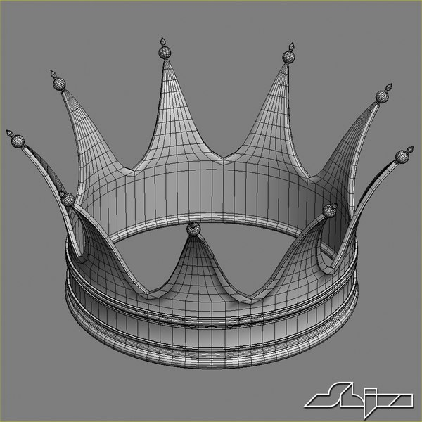 3d crown model - Crown 3... by shiva3d