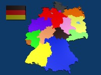 germany state 3d blend