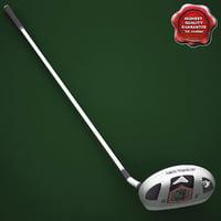 3ds golf callaway fusion hybrid