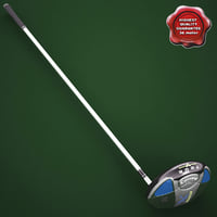 3d golf callaway hyper x model