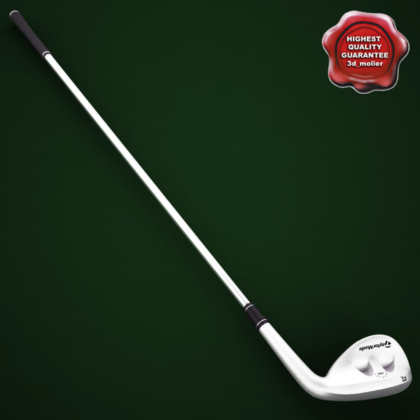 golf stick taylormade rac 3d 3ds - Golf Stick TaylorMade Rac Chrome... by 3d_molier