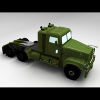 3ds m915a5 army truck