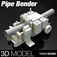tube bender 3d model