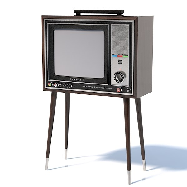 Sony Trinitron KV 1310 color television tv  set crt tube analog retro vintage antique lamp kinescope wood.jpg