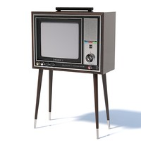3d model sony trinitron kv