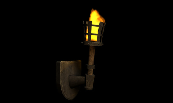 Max Medieval Torch