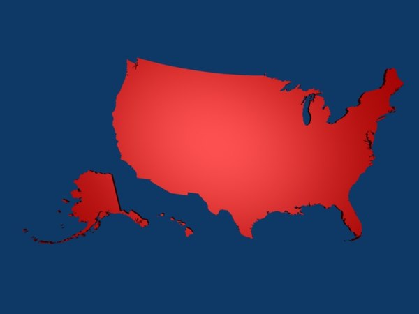 united states america 3d 3ds - USA, United States of America... by danitheking
