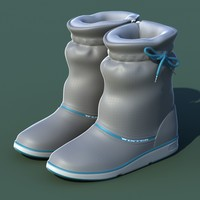 3d excellent winter shoes 01