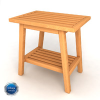 dxf bath bench