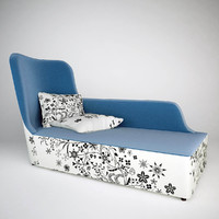 moroso closer chaise longue 3ds