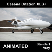 Cessna citation XLS+ (animation)