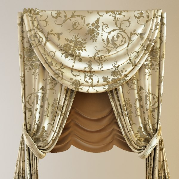 Classical Curtains & Jabot
